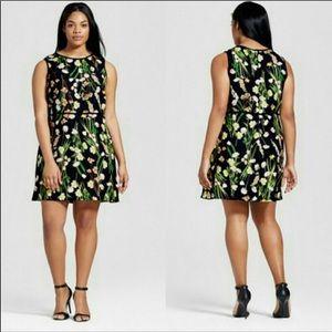 NWT    Victoria Beckham for Target Floral Dress